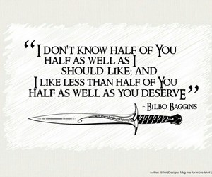 lord of the rings, quotes, and bilbo baggins image