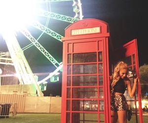 ferris wheel, festival, and Las Vegas image