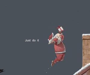 christmas, claus, and santa image