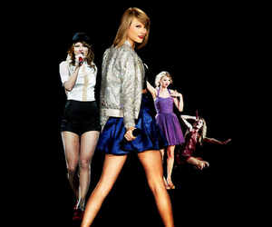 1989, fearless, and red image