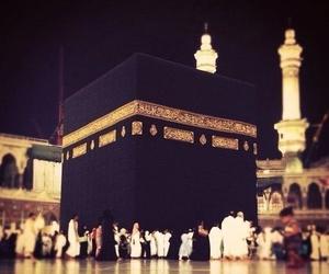 muslim, prayer, and mekkah image