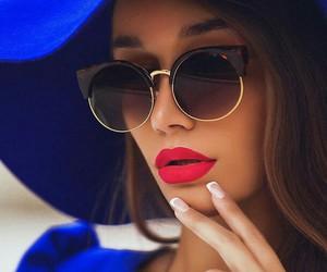 fashion, lips, and nails image
