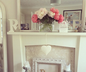 flowers, rosy, and style image