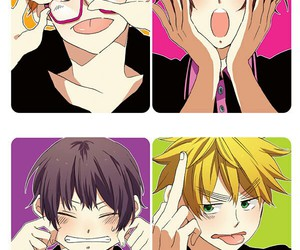 anime, cute, and funny face image