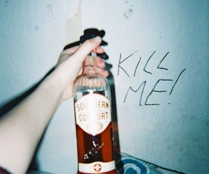 alcohol, grunge, and kill me image