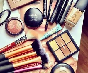 blush, Brushes, and makeup image