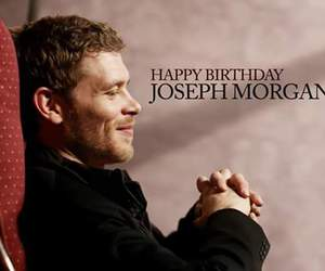 joseph morgan, klaus, and happy birthday image