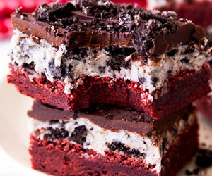 brownie, chocolate chip, and dessert image