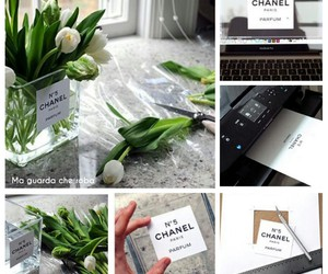 chanel, flower, and diy image