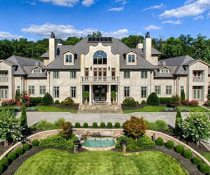 home, mansion, and house image