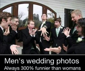 funny, wedding, and men image