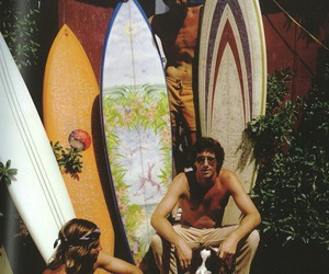 summer, surf, and surfboard image