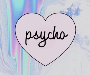 Psycho, indie, and grunge image