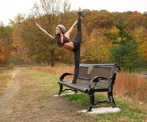 flexibility, flexible, and gymnastics image