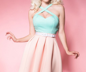 pastel, Pin Up, and pretty image