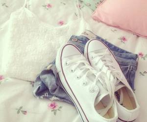 fashion, converse, and outfit image