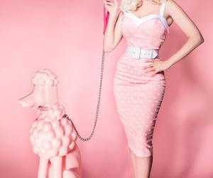 dress, fashion, and Pin Up image