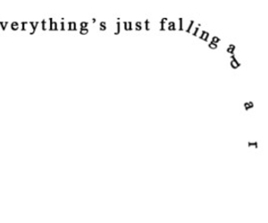 quotes, falling, and everything image