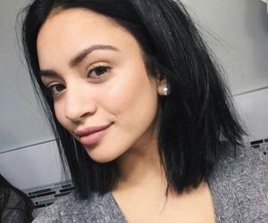 hair, beautiful, and girl image