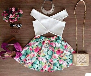 clothes, dress, and skirt image