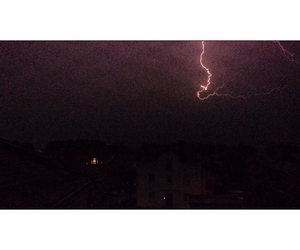 lightning, my picture, and rain image