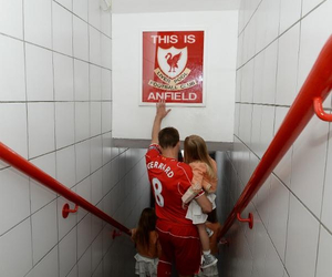 Steven Gerrard, Liverpool, and anfield image