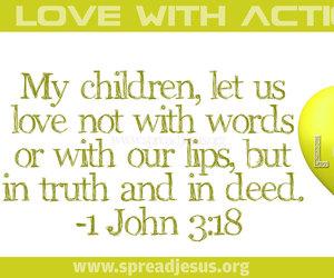 bible.god and jesus. verses image