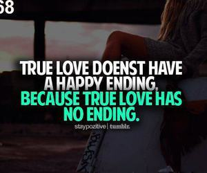 love, true love, and quote image