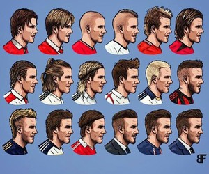 beckham, david, and hair image