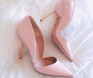 heels, pink, and cute image