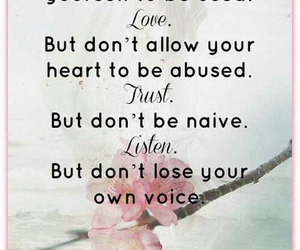 quote, love, and trust image