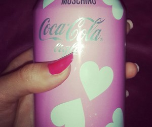 cocacola pink women love image
