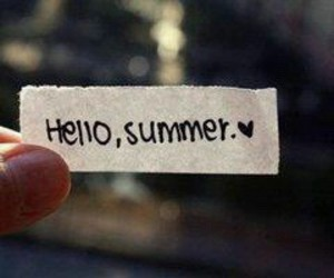 summer and hello image