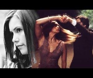 video, elena gilbert, and damon salvatore image