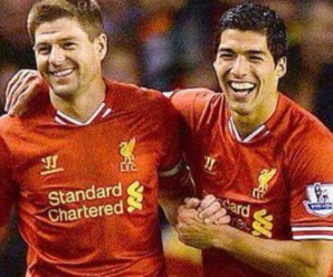 football, Liverpool, and Steven Gerrard image