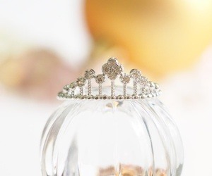 cinderella, crown, and gift image