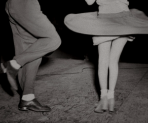 dance, black and white, and vintage image