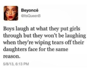 beyoncé, quote, and boys image