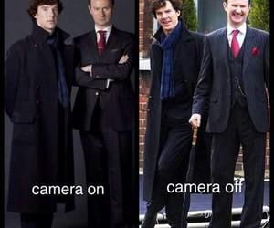 sherlock holmes, benedict cumberbatch, and mycroft holmes image