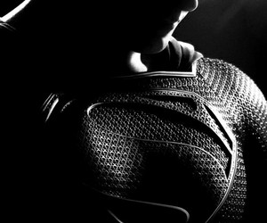 superman, man of steel, and Henry Cavill image