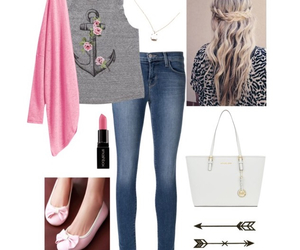 Polyvore, summer, and outfit image