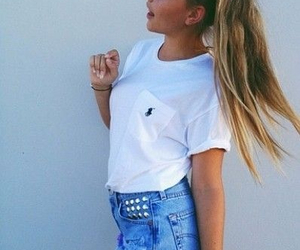 shorts, fashion, and girl image