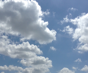 grunge, blue, and clouds image