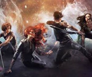 mortal instruments, isabelle lightwood, and clary fray image