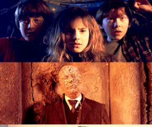 harry potter and golden trio image