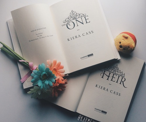 book, disney, and flowers image