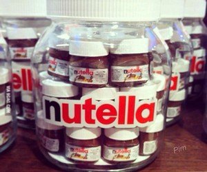 nutella and yummy image
