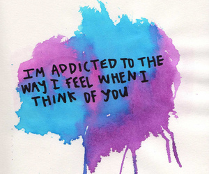 love, quote, and addicted image