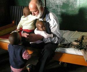 africa, hug, and humans image