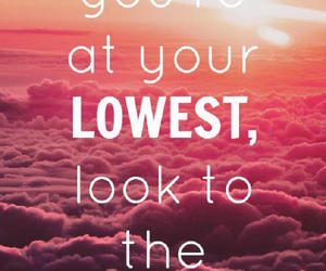quote, highest, and life image